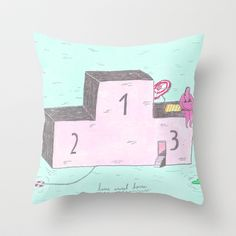 Lowered Expectations IV Throw Pillow by mariana, a miserável(the miserable one) - $20.00