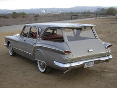 1960 Plymouth Valiant Station Wagon. Not a really fabulous car but I owned one of these in college.