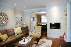 Incroyable Rambling Renovators   Living Rooms   Para Paints   Cashmere   Pier 1  Imports Gold Circles