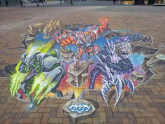 Awesome street art in amsterdam ZO