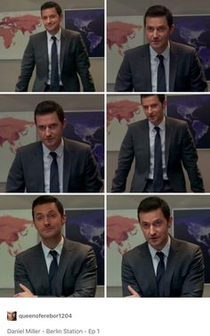 Richard Armitage as Daniel Miller in Berlin Station Episode 1 (2016)