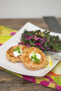 These salmon cakes might look (and taste) fancy, but are super easy to make. Plus, they're perfect for Lent.