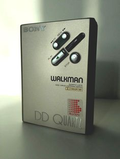 vintage champagne sony walkman dd quartz wm-ddiii or dd3 from $60.0