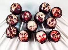 ZOmbieMG! Totally creepy Zombie Lollipops from LIQNYC