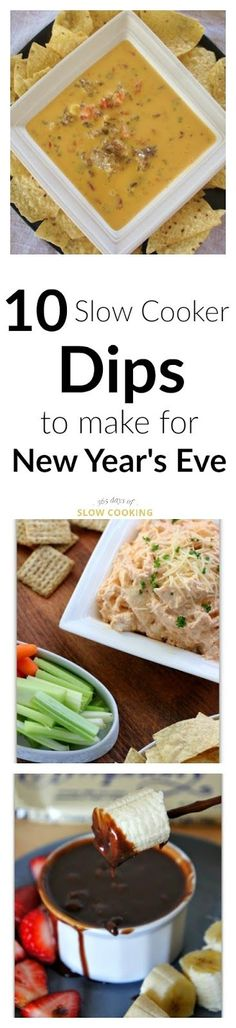 10 Slow Cooker Dips to Make for New Years Eve