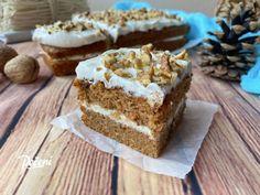 Bezlepkový mrkvový koláč - Víkendové pečení Krispie Treats, Rice Krispies, Vanilla Cake, Banana Bread, Cheesecake, Good Food, Gluten Free, Cupcakes, Sweets