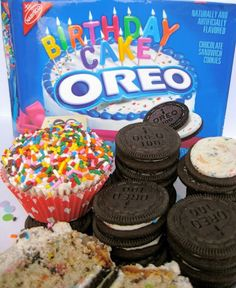 Birthday Cake Oreo Cookies Oreo Birthday cakes and Fancy birthday