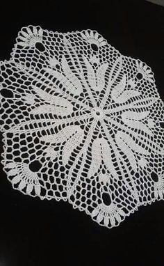 Doily crochet doily doilies Round dark turquoise doily C Free Crochet Doily Patterns, Granny Square Crochet Pattern, Crochet Motif, Knitting Patterns, Crochet Table Runner, Crochet Tablecloth, Crochet Books, Crochet Home, Crochet Dollies