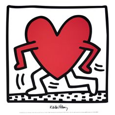 Untitled 1984 By Keith Haring: Category: Art Currency: GBP Price: Retail Price: Pop Art Graffiti Gift ShopBlack and White… Keith Haring Kids, Keith Haring Shirt, Keith Haring Poster, Keith Haring Prints, Norman Rockwell, G Dragon Tattoo, Gd Tattoo, Tattoo Art, Haring Art