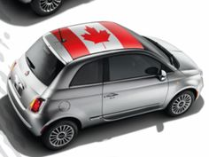 2013 Fiat 500-Abarth Decal Kit - Canadian Flag #82212785