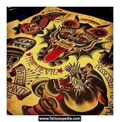 American Traditional Tattoos 15