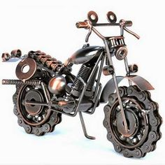 iron handmade motorcycle