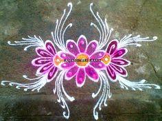 Flower Design Rangoli