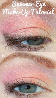Summer Eye Make-Up Tutorial