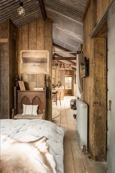 beautiful rustic cabin in UK
