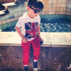 little boy fashion - union jack