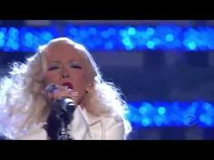 It's a Man's Man's Man's World - Christina Aguilera (live)  Can she give any more?