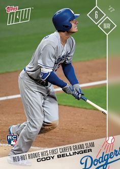 9140c69450f5a6 2017 Topps Now -  116 - Red-Hot Rookie Hits First Career Grand Slam - Cody  Bellinger