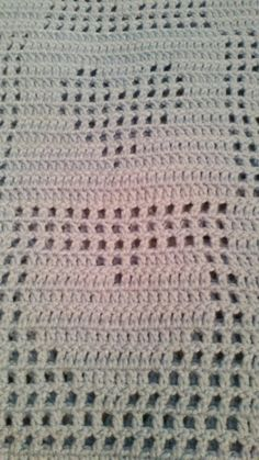 Measures approximately 36 x 32 and can be ordered in any color. This item needs to be made to order! Tapestry Crochet Patterns, Crochet Motifs, Crochet Blanket Patterns, Baby Patterns, Crochet Heart Blanket, Crochet Stars, Crochet Baby, Fillet Crochet, Blue Hearts
