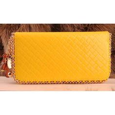 Womens yellow leather purses $69.00 - Out of stock