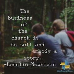 Newbigin Missional Living church