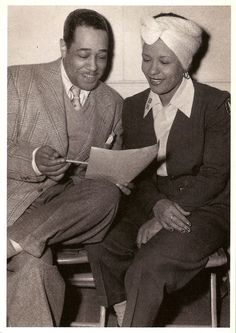 Duke Ellington and Billie Holiday-1950