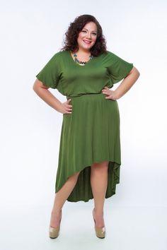 Plus Size High Low Dress