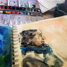 Art Journal Sketch Book Journal Visual Diary Visual Journal