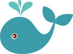 View Design: echo park whale  Silhouette cut file