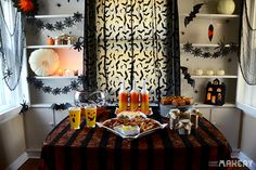 Easy Halloween Party Recipe Ideas   Camp Makery  Decor, Halloween recipes, Holiday ideas