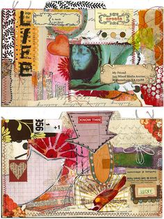 Mail Art For My Friend by Robes-Pierre, via Flickr