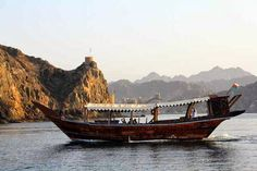 DHOW CRUISE IN MUSCAT COAST LINE - See Muscat coast through the eyes of ancient seafarers who plied this route for centuries. Have a brief stop at a natural cove.