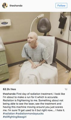 Whoa, talk about inspiring! #shannen #doherty #celebrities #celebs #cancer #breast #cancer http://greatist.com/live/shannen-doherty-shares-fight-with-cancer-via-instagram