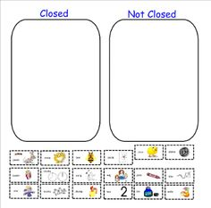 Worksheets Open And Closed Syllables Worksheets 2nd Grade syllable and highlights on pinterest openclosed sort