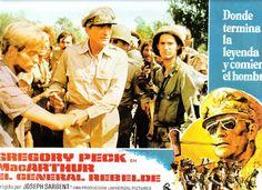 EL GENERAL REBELDE FOTOCROMO ORIGINAL DEL ESTRENO DE LA PELICULA LOBBY CARDS GREGORY PECK