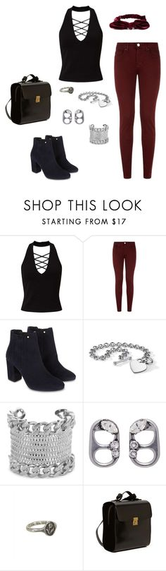 """""""Teenager"""" by rebellious-ingenue ❤ liked on Polyvore featuring Miss Selfridge, dVb Victoria Beckham, Monsoon, Blue Nile, Givenchy, Marc Jacobs, Pyrrha and Kelsi Dagger Brooklyn"""
