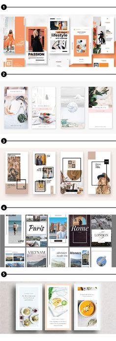 Crear Diseños Interesantes Para Historias En Instagram: Plantillas Para Insta Stories | Ya que las personas pasan más tiempo mirando insta stories, una técnica para resaltar en Instagram es utilizar plantillas para insta stories.