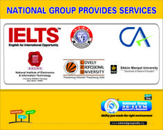 Providing coaching for IELTS and CA entrance exam.