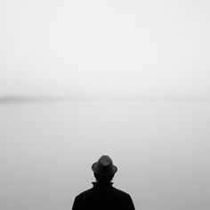 by Georg in Bavaria Negative Space Photography, I Stand Alone, Digital Photography, Photo Art, Black And White, Solitude, Image, Psychotic, Bavaria