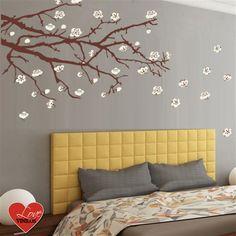 ilovepitita | love vinilos > decoracion > vinilos decorativos > naturaleza > almendro en flor vinilo