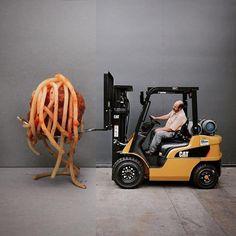 Stephen McMennamy - Un chariot élévateur qui aime les spaghettis