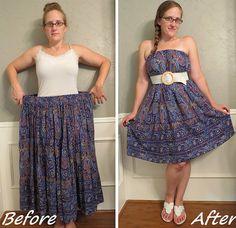 Batik Dress Refashion by CarissaKnits