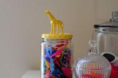 a pretty cool life.: barrette jars