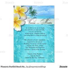 Hawaiian wedding invitations cards