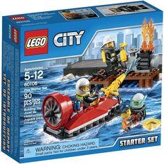 Lego CITY 60106 Hasiči Startovací sada - 0