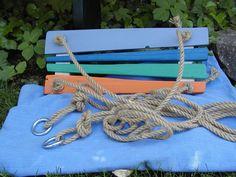 Holzspielzeug - Brettschaukel - ein Designerstück von Holz-Spiel-Troedel bei DaWanda