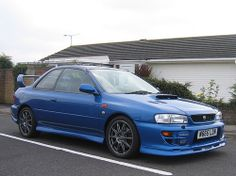 2000 Subaru Impreza Prodrive P1 World Rally Blue by Steve Coulter Performance Cars.