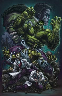 Hulk Transformation by DAVID-OCAMPO.deviantart.com on @deviantART