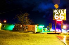 I had to go to Las Vegas for a conference. I decided to drive because I remembered years earlier in Barstow this cool Route 66 sign.    Unfortunately it doesn't seem to be there anymore. A local told me there had been a fire in part of the motel comple
