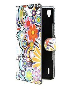 #puericultura Funda Flip Case Cover Premium Standing Leather Funda Para Huawei Ascend P7 A04
